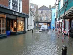 Flood and fire damage can affect almost every item in a business